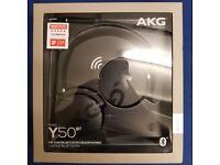 SEALED AKG Y50BT Bluetooth Headphones