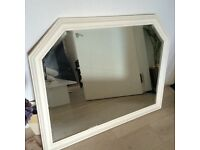 Large over mantel mirror