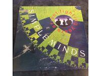 Simple Minds- Street Fighting Years - Vinyl LP 1989