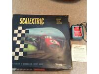 Scalextric set from 60s