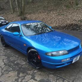 NISSAN SKYLINE R33 GTST 12 MONTH MOT ROTA GRIDS HKS INDUCTION KIT