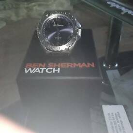 The original Ben Sherman watch never warn