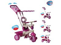 Smart Trike Touch Steering 4-in-1 Safari Ride On