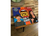 Free board game (Speak Out) - used once