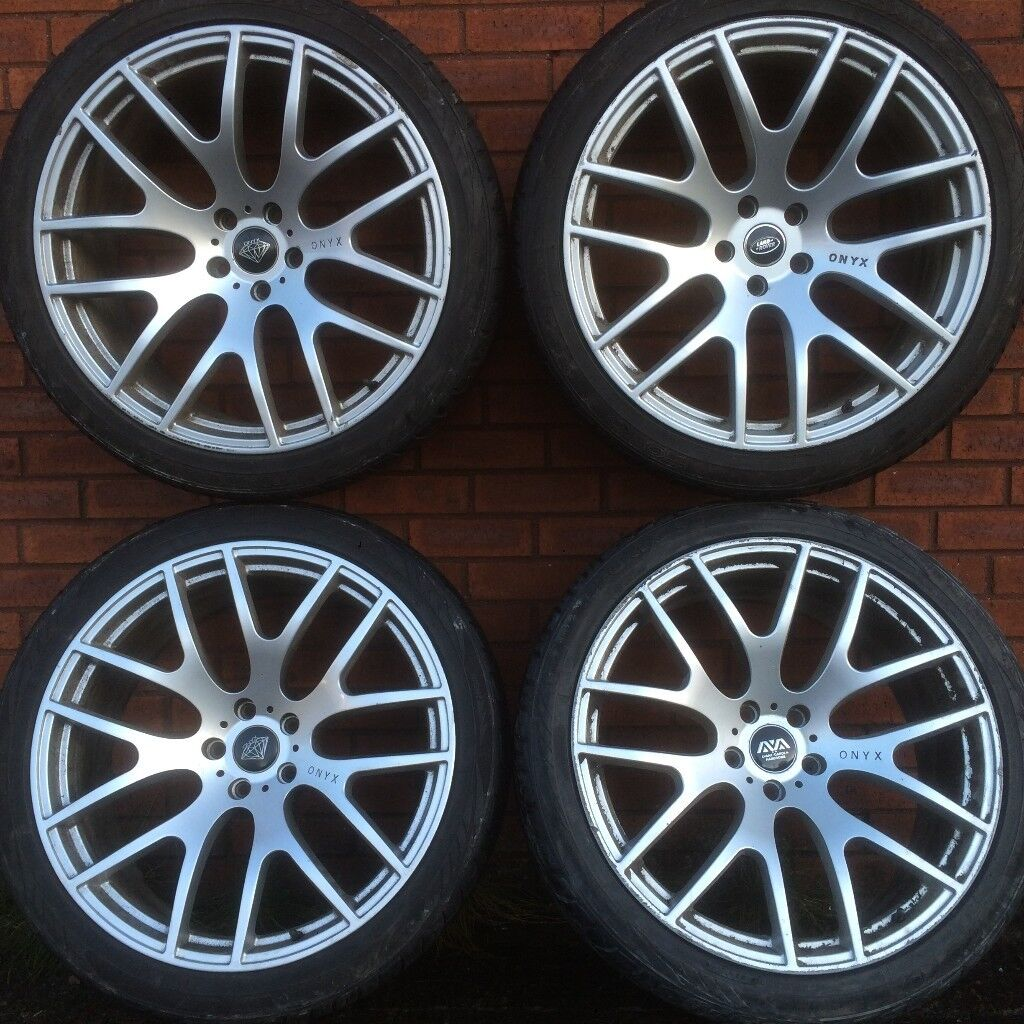 22 Inch Onyx Alloy Wheels Amp Toyo Tyres Range Rover Sport