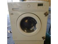 fully integrated washer dryer in VGC can deliver