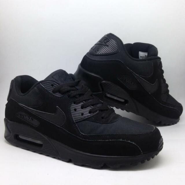 reputable site cf46e 9aadf Nike AIR MAX 90 men's Trainers size 8 Triple Black Sneakers EU 42.5 | in  Stockport, Manchester | Gumtree