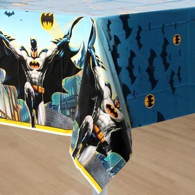 Batman Unique Plastic Table Cover 1 Per Package Birthday Party Supplies New (Batman Table)