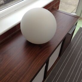 Retro round lamp