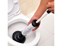 Drain Unblocker Plunger Suction Toilet Kitchen Sink Shower Pipe Clog Plumbing fREE PP £10