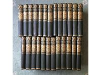 Beautiful full set of The Waverley Novels by Sir Walter Scott, 25 Volumes, Caxton, Great condition