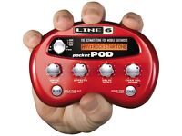 LINE 6 POCKET POD WITH POWER SUPPLY EXCELLENT CONDITION