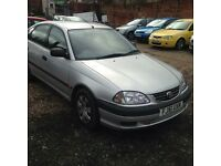 TOYOTA AVENSIS , good mileage ,, EXCELLENT CONDITION DRIVES SUPERB