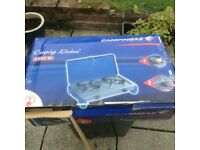Brand new camping gas dual cooker