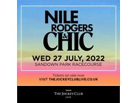 NILE RODGERS AND CHIC LIVE