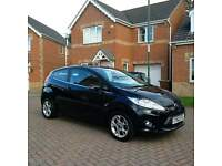 FORD FIESTA 1.2 ZETEC BLACK, MOT 12 MONTHS, SERVICE HISTORY, ONE PREVIOUS OWNER