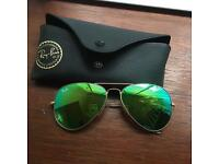 Ray-Ban women's aviators glasses
