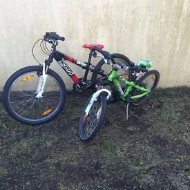 Two Scott Bikes great condition