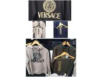 Versace Hoodie & Jumper Tracksuit: (Nike Armani stone island north face moncler Gucci Ralph Lauren)