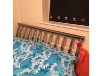 A Double Metal Frame Bed