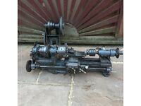 Zyto Lathe - 7 inch , 3 dual chuck works well , fair condition