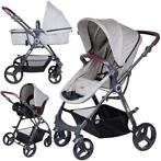 FreeON Kinderwagen Dream 3 in 1 Grey (incl. autostoel)
