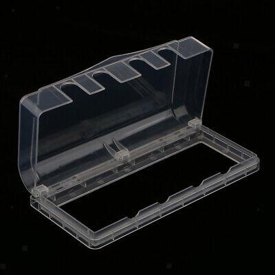 Wasserdichte Steckdose / Schalter Schutz Gehäuse Fall mit 4 Löcher - Klar - Wasser-steckdose Gehäuse