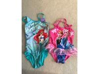 Girls Disney swimsuits age 4