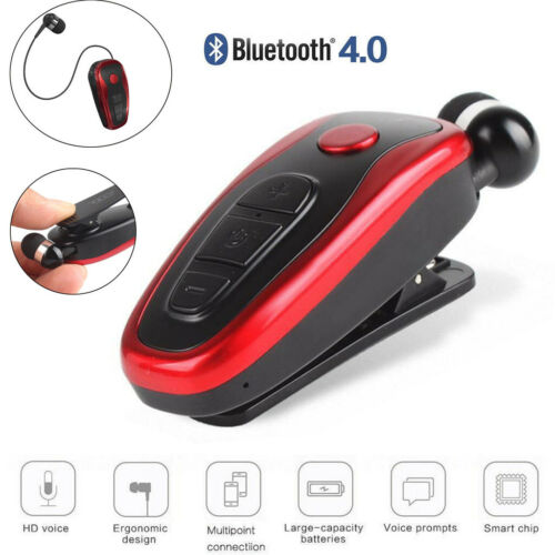 Wireless Headphone Clip-on Earbuds Earphone Bluetooth Headset for IOS Android Cell Phone Accessories