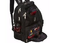 Original SwissGear Travel Gear ScanSmart Backpack 1900 Black