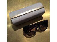 Jimmy Choo OLA-S J8E/EU Black and Diamanté Sunglasses