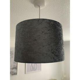 Velvet Grey Light Shade