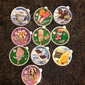 10 ice cream stickers NEW ONLY £6 with free p&p just peel off the back & they're sticky .