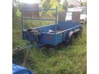 Good galv loading trailer.ifor williams.