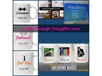 Wedding gift mugs