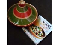 Tagines and Couscous cook book and pot