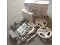 Wii console and accessories