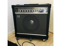 Roland Jazz Chorus JC-50 Electric Guitar Amplifier Talking Heads Byrne Smiths Marr