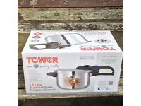 Pressure cooker in perfect condition stainess steel