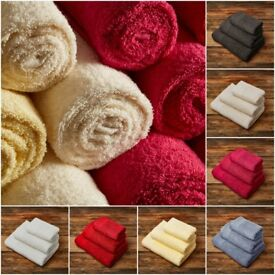 Wholesale Lot of 1750 x 600gsm Egyptian Cotton Towels - Perfect for Market Trader or Carboot