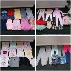 Girls bundle 3 - 4 years ( 44 items )