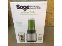 Sage by Heston Blumenthal The Boss To Go nutri bullet power blender Opened but never used