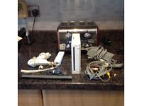 Wii console , nunchucks , etc possible free delivery