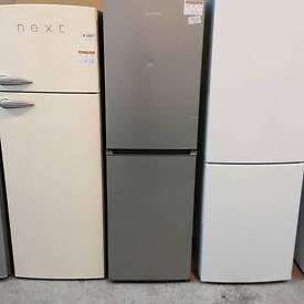 Graded Silver Daewoo Fridge freezer # 241