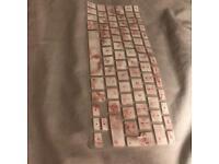 Pink Marble Keyboard Cover- Apple Mac