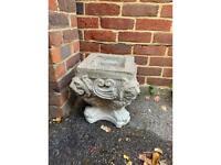 Lion Stone Planter, plant pot, tub