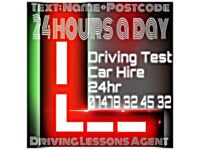 SHORT NOTICE DRIVING TESTS ALL AREAS - driving lesson instructor Last Minute car Book Rent Hire