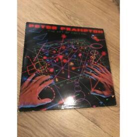 "Peter frampton the art of control vinyl 12"" record album"