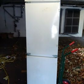 fully integrated tall fridge freezer in excellent condition can deliver
