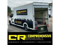 COMPREHENSIVE REMOVALS MAN & VAN HIRE SERVICE - Cheap House removals, Office moves & Home clearances